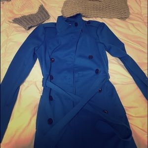 Blue Trench coat by candie's